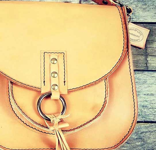 Turn Heads With A Custom Leather Bag From Two Hands Leather Co.